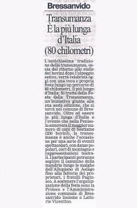 GIORNALE DI VICENZA 19 SETTEMBRE 2004