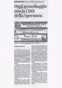 GIORNALE DI VICENZA 24 SETTEMBRE 2009
